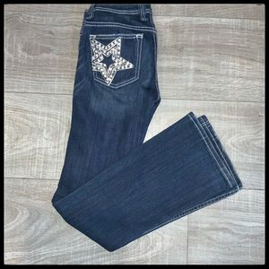 MISS ME JEANS Bootcut with Star on pockets 27